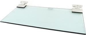 royaL indian craft Sea Green Hinge Bracket 12 By 5 Inch Floating Glass Wall Shelf