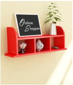 Onlineshoppee Wooden Wall Shelves/Rack Wooden Wall Shelf