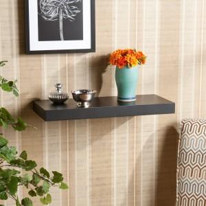 DriftingWood Set Top Box / TV Wooden Wall Shelf