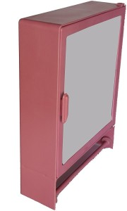 Zoom Zoom Good Morning Bathroom Mirror Cabinet (Rod) Plastic Mirror Storage Chest ... Plastic Wall Shelf