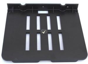 Aqua Fit Aquasoft prime series Set top box stand (Unbreakable) Acrylic Wall Shelf