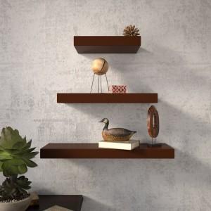 DriftingWood Floating Wooden Wall Shelf
