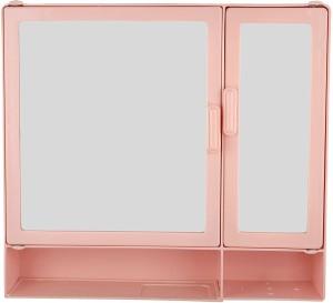 Zoom Zoom Butterfly Double mirror Shelf Plastic Mirror Storage Chest (40.6 cm x 10... Plastic Wall Shelf