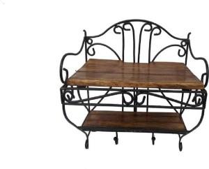 Fabulo Fabulo set top box stand Wooden Wall Shelf