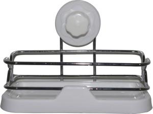 TrendyFurnish Cupula Storage Basket Polypropylene, Steel, Plastic Wall Shelf