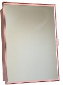 Zoom Zoom Champion Cabinet Plastic Mirror Storage Chest (26.5cm x 11.5cm x 38.2cm, Blue, Z122CB-BLU-10.54.515) (PINK) Plastic Wall Shelf