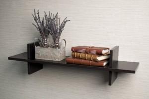Arsalan Artistically Elegant Wooden Wall Shelf