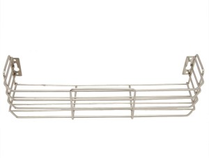 Zahab Stainless Steel Bathroom Shelve 15in 40cmx10cm Shelf Bracket