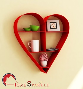 Home Sparkle Steel Wall Shelf