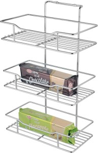 Jvg Spice Rack Wall Mounting Stainless Steel Wall Shelf Number Of
