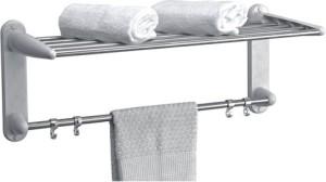 Branco Towel Rack Plastic Wall Shelf