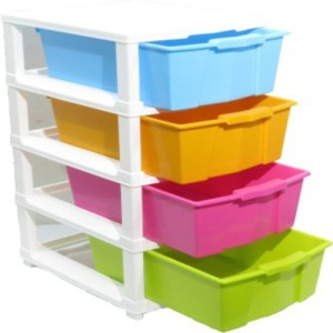 Furniture Hub Plastic Wall Shelf