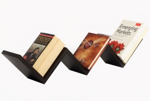 Bluewud Wall Book Shelf Aaron MDF Wall Shelf
