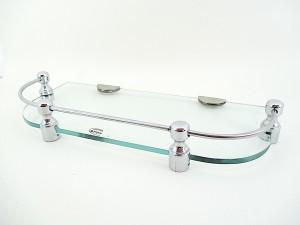 Royal Indian Craft D Brass Bracket 12 By 5 Inch New Look Glass Wall Shelf