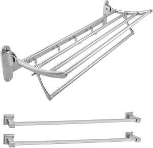 Klaxon Kristal Folding Stainless Steel Wall Shelf