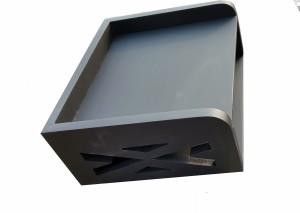 M.H.Inc. settopbox STAND MDF Wall Shelf