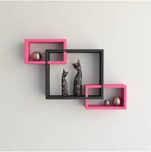 Wallz Art Rectangular MDF Wall Shelf