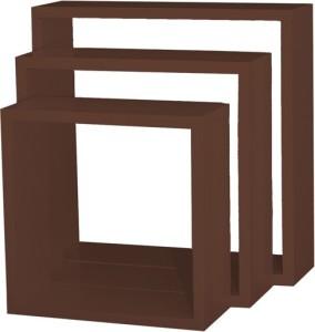 Custom Decor Nesting Wooden Wall Shelf