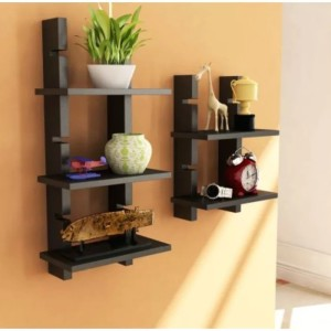 Onlineshoppee MDF Wall Shelf