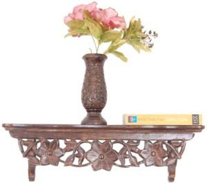 Onlineshoppee AFR1054 Wooden Wall Shelf