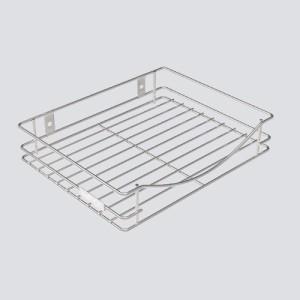 SAFFRON DTH SET TOP BOX STAND Stainless Steel Wall Shelf