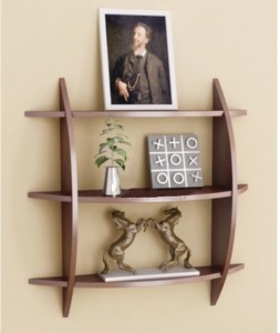 Arsalan Handcrafted Ignicious Wooden Wall Shelf
