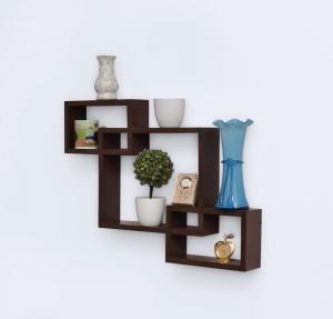 Usha Furniture Wooden Wall Shelf