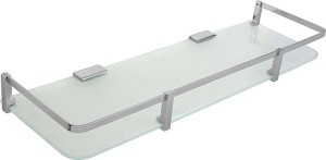 Klaxon Glass Wall Shelf