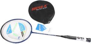 Super-K Ferroalloy Badminton  (With Half Cover) G4
