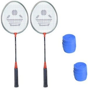 Cosco Cosco CB-120 Badminton Racket Pair With Plastic Grip ( Pack of 2 ) G5 Strung