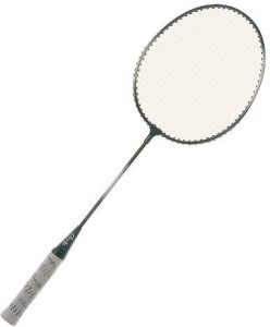 Champion Sports Heavy-Duty Steel Badminton Racket G4 Strung
