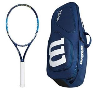 Wilson Junior Burn 25 Tennis Racquet G4 Strung Multicolor