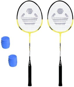 Cosco Cosco CB-90 Badminton Racket Pair With Plastic Grip ( Pack of 2 ) G5 Strung