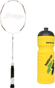 Li-Ning XP G-Tek-58 Badminton Racket + 1 Sipper G4 Strung