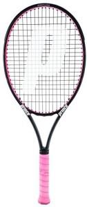 Prince Textreme Warrior 107L Pink Tennis Racquet (4-1/4) G4 Strung