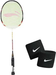 Li-Ning XP G-Tek-68 Badminton Racket + 1 Wrist Band G4 Strung