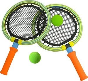 SAFSOF Bing Bang Springy Racket With Ball G4 Strung