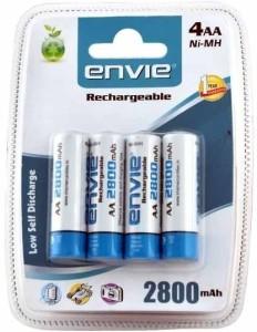 Envie AA 2800 mAh Rechargeable Ni-MH Battery