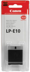 Canon LP-E10 Rechargeable Li-ion Battery