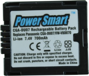 Power Smart 700mAh Replacement for Panasonic CGA-DU07 and VW-VBD070 Rechargeable Li-ion Battery