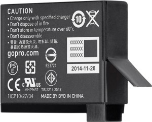 GoPro AHDBT-401 Rechargeable Li-ion Battery