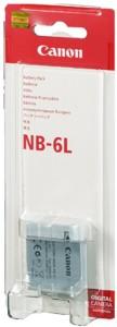Canon NB-6L Rechargeable Li-ion Battery