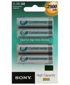 Sony NH-AA-B4EN/C AE 97989727 Rechargeable Ni-MH Battery