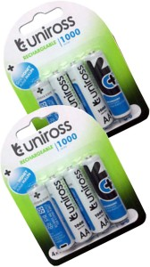 UNIROSS Uniross1000mAh Rechargeable Ni-MH Battery