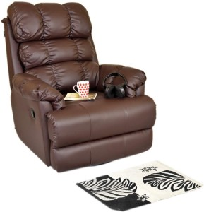 Recliners India Leatherette Manual Swivel Recliners