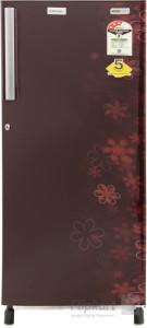 Electrolux 190 L Direct Cool Single Door 1 Star Refrigerator(EURO Burgundy Eva, EJ203LTEBE)