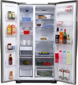 Lg 581 L Frost Free Side By Side Refrigerator Gc B207glqv Pv Pz