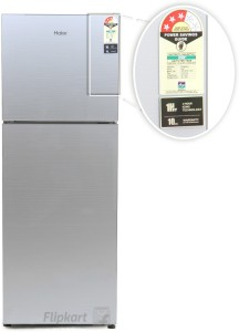 7edd8ff1520 Haier 247 L Frost Free Double Door Refrigerator HRF 2674PSG R Silver Glass  2016 Best Price in India