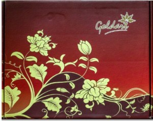 30dbc9b7c73b GoldArt GoldFoil Photo Frame Size 3 Lord Srinivasa   Lakshmi (Wooden  Framed) Showpiece - 25 cmWooden