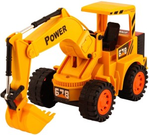 Flying Toyszer Remote Controlled Jcb Construction Truck Yellow Best
